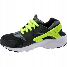 Buty Nike Huarache Run Gs W 654275-017 czarne żółte 1