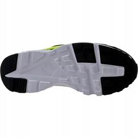 Buty Nike Huarache Run Gs W 654275-017 czarne żółte 3