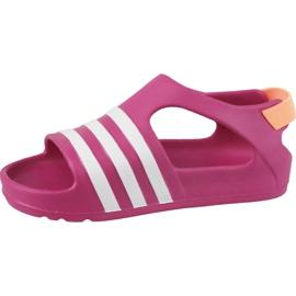 Sandały adidas Adilette Play I Jr B25030 różowe 1