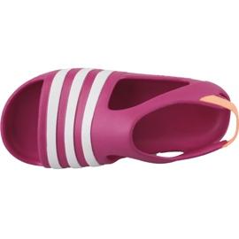 Sandały adidas Adilette Play I Jr B25030 różowe 2