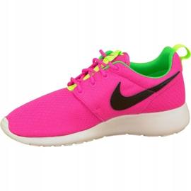 Buty Nike Rosherun Gs W 599729-607 różowe 1