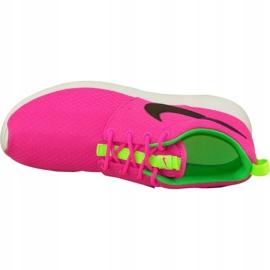 Buty Nike Rosherun Gs W 599729-607 różowe 2