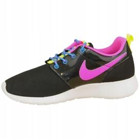 Buty Nike Roshe One Gs W 599729-011 czarne różowe wielokolorowe 1
