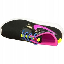 Buty Nike Roshe One Gs W 599729-011 czarne różowe wielokolorowe 2