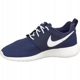 Buty Nike Roshe One Gs W 599728-416 białe granatowe 1