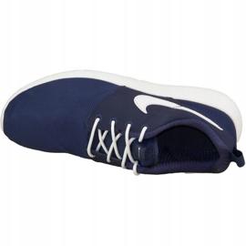 Buty Nike Roshe One Gs W 599728-416 białe granatowe 2