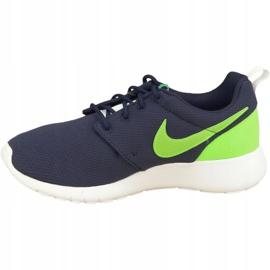 Buty Nike Roshe One Gs W 599728-413 granatowe zielone 1