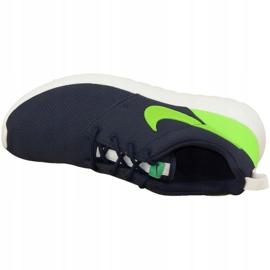 Buty Nike Roshe One Gs W 599728-413 granatowe zielone 2