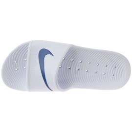 Klapki Nike Kawa Shower 832655-100 białe 2
