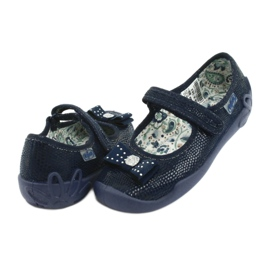 Befado obuwie dziecięce 114X362 granatowe 5