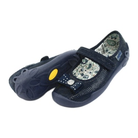 Befado obuwie dziecięce 114X362 granatowe 6