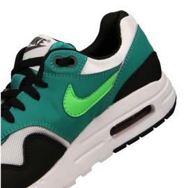 Buty Nike Air Max 1 Gs Jr 807602-111 czarne wielokolorowe zielone 1