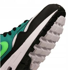 Buty Nike Air Max 1 Gs Jr 807602-111 czarne wielokolorowe zielone 2