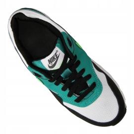 Buty Nike Air Max 1 Gs Jr 807602-111 czarne wielokolorowe zielone 3