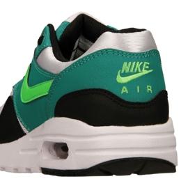 Buty Nike Air Max 1 Gs Jr 807602-111 czarne wielokolorowe zielone 4