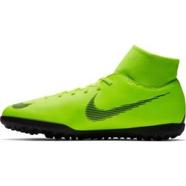 Buty piłkarskie Nike Mercurial Superfly 6 Club Tf M AH7372 701 zielone czarny, zielony 1