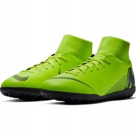 Buty piłkarskie Nike Mercurial Superfly 6 Club Tf M AH7372 701 zielone czarny, zielony 3