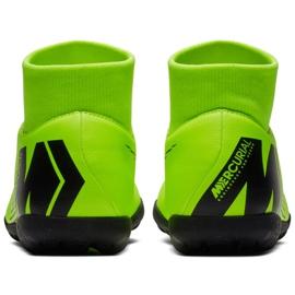 Buty piłkarskie Nike Mercurial Superfly 6 Club Tf M AH7372 701 zielone czarny, zielony 4