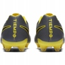 Buty piłkarskie Nike Tiempo Legend 7 Pro Fg M AH7241 070 szare czarny, żółty 4