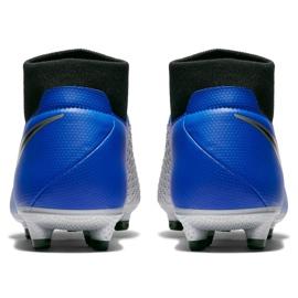 Buty piłkarskie Nike Phantom Vsn Academy Df FG/MG M AO3258 400 niebieskie wielokolorowe 5