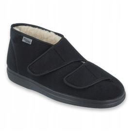 Befado obuwie damskie  pu 986D011 czarne 1
