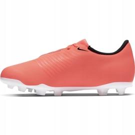 Buty piłkarskie Nike Phantom Venom Club Fg Jr AO0396-810 pomarańczowe pomarańczowe 2