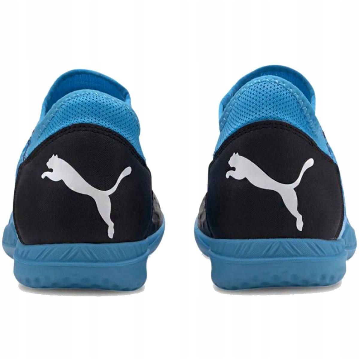 Buty halowe Puma Future 5.4 It M 105804 01 niebieskie niebieski