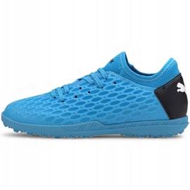 Buty piłkarskie Puma Future 5.4 Tt Jr 105813 01 niebieski niebieskie 2