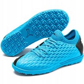 Buty piłkarskie Puma Future 5.4 Tt Jr 105813 01 niebieski niebieskie 3