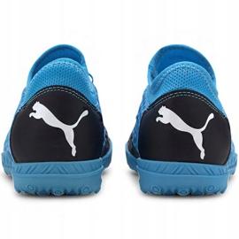 Buty piłkarskie Puma Future 5.4 Tt Jr 105813 01 niebieski niebieskie 4