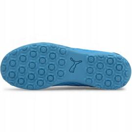 Buty piłkarskie Puma Future 5.4 Tt Jr 105813 01 niebieski niebieskie 5