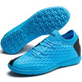 Buty piłkarskie Puma Future 5.4 Tt M 105803 01 niebieskie niebieski 3