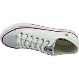 Buty Big Star Shoes W DD274336 białe 2