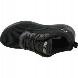 Buty Skechers Bobs Squad W 32504-BBK czarne 2