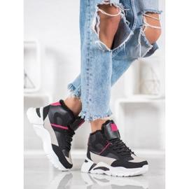Bella Paris Sneakersy Z Futerkiem 5