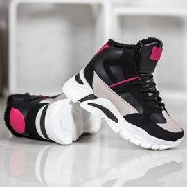 Bella Paris Sneakersy Z Futerkiem 2