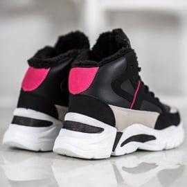 Bella Paris Sneakersy Z Futerkiem 3