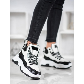 Bella Paris Sznurowane Sneakersy Fashion 4