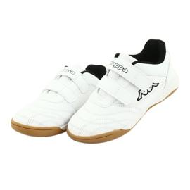 Buty Kappa Kickoff Jr 260509K 1011 białe czarne 3