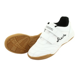 Buty Kappa Kickoff Jr 260509K 1011 białe czarne 4