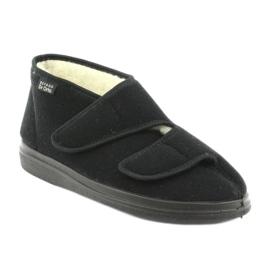 Befado obuwie męskie  pu 986M011 czarne 1