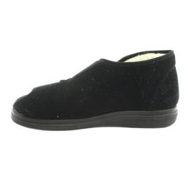 Befado obuwie męskie  pu 986M011 czarne 2