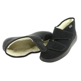 Befado obuwie męskie  pu 986M011 czarne 4