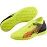 Buty piłkarskie Puma Future 18.4 Tt M 104339 01 żółte czarny, zielony, pomarańczowy 4