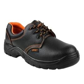 Czarne męskie obuwie ochronne HX117 1