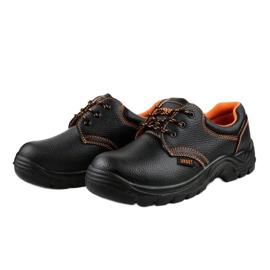 Czarne męskie obuwie ochronne HX117 3