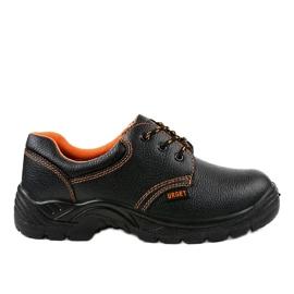 Czarne męskie obuwie ochronne HX117 2