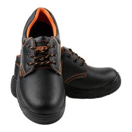 Czarne męskie obuwie ochronne HX117 4