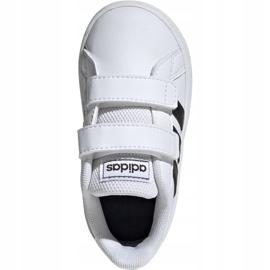 Buty adidas Grand Court I Jr EF0118 białe 2
