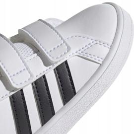 Buty adidas Grand Court I Jr EF0118 białe 3